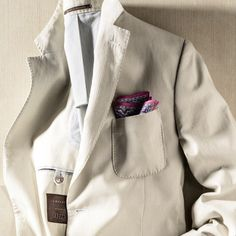 a tan double faced corded stripe soft jacket...