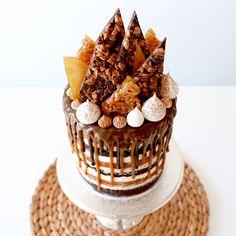 Caramel drip cake Katherine Sabbath