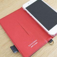 【本革 + 日本製 】絵になるオトナの iPhoneケース | iPhone 6/6s & Plus 対応 | Genuine Leather Wallet Case for iPhone 6 / 6s and iPhone 6 / 6s Plus. Vin x Noir.