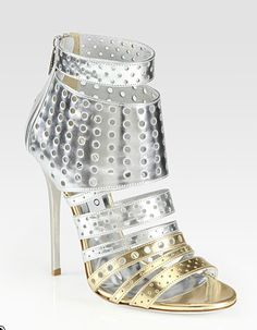 Does anyone else think DALEK??? #DoctorWho  Jimmy Choo fall 2012 collection.