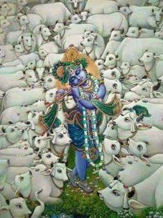 Lord Krishna avatar of Lord Vishnú. Hare Krishna, Krishna Lila, Krishna Statue, Jai Shree Krishna, Lord Krishna Images, Radha Krishna Pictures, Radha Krishna Photo, Krishna Art, Krishna Photos