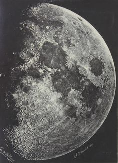 The Moon on March 6 1865 in New York City. WOW!