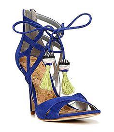 65d7cc1ce Sam Edelman Azela Ghillie Dress Sandals  Dillards Dress And Heels