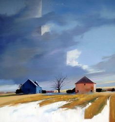 Ideas for house barn ideas stones Abstract Landscape, Landscape Paintings, Abstract Art, House Painter, Paintings I Love, Art Graphique, Stone Art, Art Sketchbook, Stone Painting