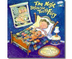 The Night Before Tooth Fairy by Natasha Wing, Barbara Johansen Newman (Illustrator). Dental Health Month books for children.