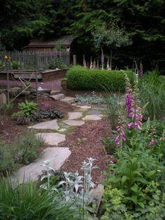 the garden path design stepping