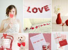 Valentine's Wedding | Burnett's Boards - Daily Wedding Inspiration