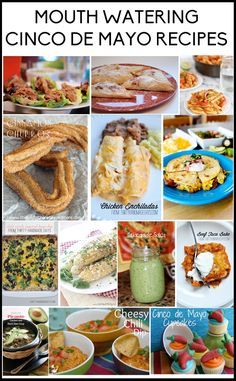 Mouthwatering Cinco de Mayo #Recipes www.thirtyhandmadedays.com