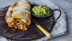 Innbakte taco-ruller