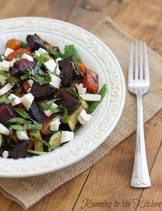 Roasted Summer Vegetable Salad by Runningtothekitchen, via Flickr