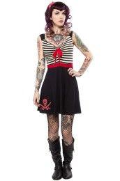 Breezy Striped Dress