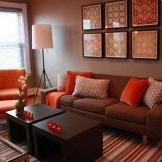 redecorating ideas for living room - Brown Living Room Ideas