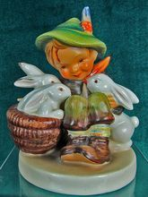 Hummel Goebel Figurine Playmates 58/0 Trademark 2 Germany, 1950-1955..