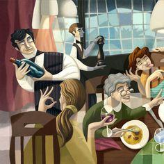 DA NICOLA mural 3 of 3 by David de Ramon, via Behance