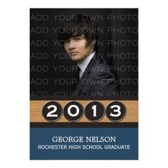 Classy Keys Graduation Invitation available in variety of colors. #graduation #announcements