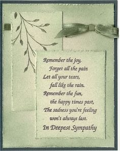 166 best cards sympathy cards images on pinterest in 2018
