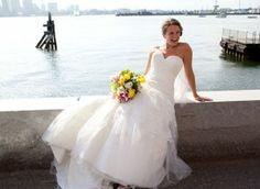 Bride by the water, Hyatt Harborside, Boston, MA
