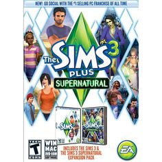 The Sims 3 Plus Supernatural - Electronic Software Download (PC/Mac)