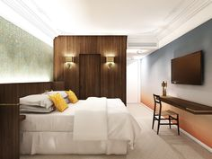 A New Hotel in Paris That's Designed to Give Guests a Taste of Modern Parisian Living - Photo 5 of 7 -