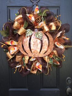 Happy Harvest by Glitzy Wreaths