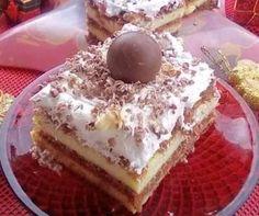 Cookbook Recipes, Dessert Recipes, Cooking Recipes, Greek Sweets, Greek Recipes, Nutella, Tiramisu, Deserts, Ethnic Recipes