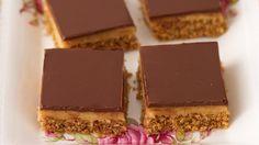 Caramel chocolate slice recipe - 9Kitchen