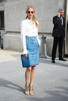 Poppy Delevingne au défilé Chanel haute couture