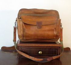 Hartmann Tan Belting Leather Briefcase Messenger Bag and Briefcases 71498e66e8c39
