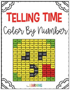 math This Telling Time to the Nearest 5 Minutes Activity is the perfect alternative to a worksheet! Telling Time Games, Telling Time Activities, Math Activities, Christmas Activities, Teaching Numbers, Teaching Math, Teaching Time, English Classroom, Math Classroom