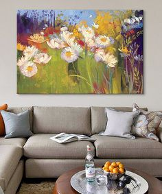 Another great find on #zulily! Contemporary Meadow Gallery-Wrapped Canvas #zulilyfinds