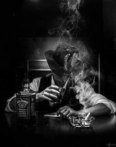 All things Jack Daniel's Film Noir Photography, Smoke Photography, Photography Ideas, Peaky Blinders, Black White Photos, Black And White Photography, Smoke Art, Galaxy Wallpaper, Dark Art