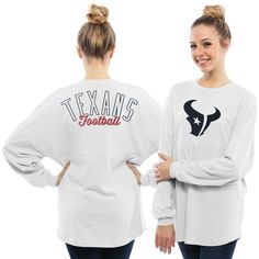 Nike Houston Texans Of The City Long Sleeve Tri-Blend T-Shirt - Ash
