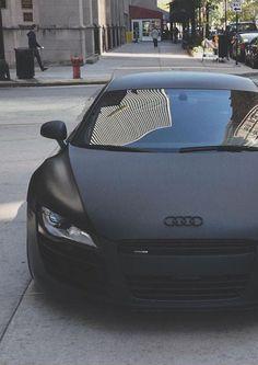 INSANELY SEXY !!!! BLACK MATTE Schwarzer Audi R8