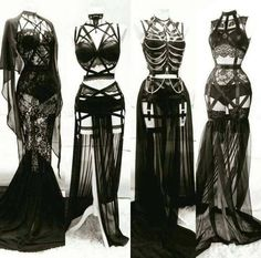 Plus size sexy lingerie. be sexy, be proud - Press VISIT link above for more options👩👱🏻‍♀️ -- Plus size seductive lingerie xx Fashion Mode, Dark Fashion, Gothic Fashion, Womens Fashion, Fetish Fashion, Vampire Fashion, Fashion Art, Fashion Tips, Gothic Outfits