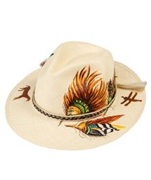 IBO-MARACA Indian Tribes Hat < HATS