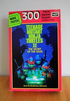 Teenage Mutant Ninja Turtles 2 Movie Poster Puzzle by smilehood, $15.99