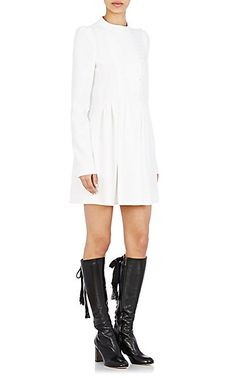 Chloé Cady Pleated Minidress - Short - Barneys.com