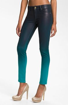 Coolest Skinny Jeans Ever... DL1961 'Emma' Waxed Skinny Jeans