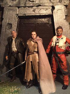"Star Wars Black Series 6"" Custom Paint Action Figures"