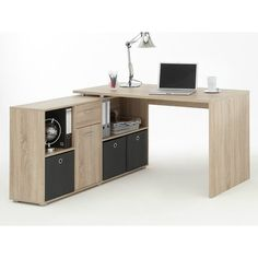 This Stanton Corner Multi Position Rectangular Computer Desk has been designed for your office as well as home. An ideal solution to your office storage requirements.