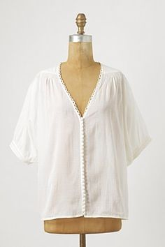 Anthropologie Dolmain Sleeve Cotton Blouse £88