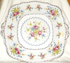 "Backstamp Royal Albert Petit Point China Reg No 778676 England. WE TRY TO SPECIFY ALL FLAWS. Double your traffic. We will NOT check the ""gift"" box or under-declare the value. Excellent condition. 