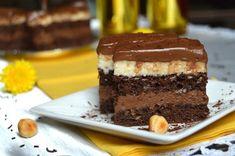 """""""Если б я был султан…"""" Я бы готовила этот замечательный десерт для своей семьи к каждому празднику! Это ароматное, чарующее и необыкновенно вкусное пирожное — любимое лакомство моего мужа и детей. Оно настолько вкусное, что рука сама тянется за следующим кусочком! Корж из какао: – 9 яиц – 30 г крахмала – 30 г муки – 100 г сахара – 50 г какао – 50 г растопленного масла – 100 г поджаренного арахиса. Сироп: – 150 мл воды – 2 ложки сахара. Ванильный крем: – 5 желтков – 50 г крахмала – 600 мл…"""