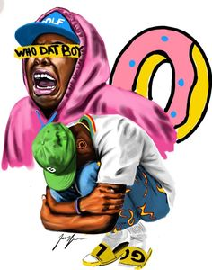 Image result for tyler the creator art