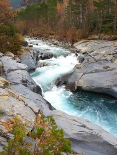 Río ARA en Torla