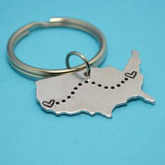 United States Key Chain or Necklace