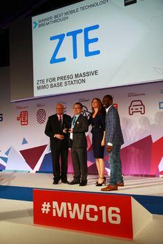 ZTE、プレ5GマッシブMIMO技術がMWC 2016でグローバル・モバイル・アワードを受賞