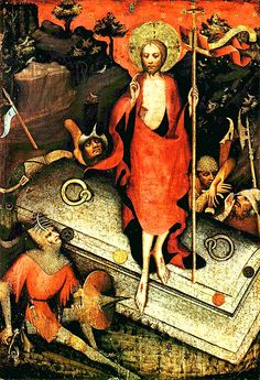 Master of the Třeboň Altarpiece, sometimes called the Master of Wittingau  Prague around 1380-1390