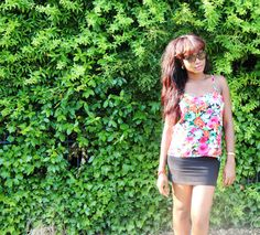 #Summer #casualoutfit #flowers