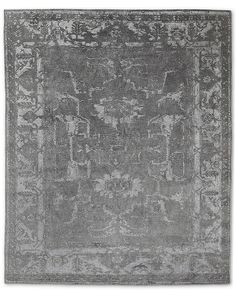 Arte Rug - Charcoal/Charcoal by Restoration Hardware